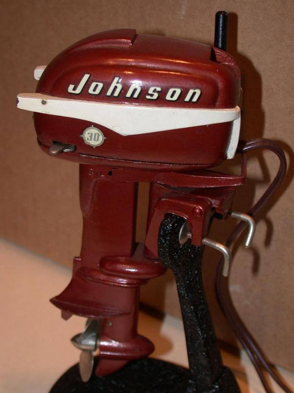 K O Toy Outboard Motors Johnson